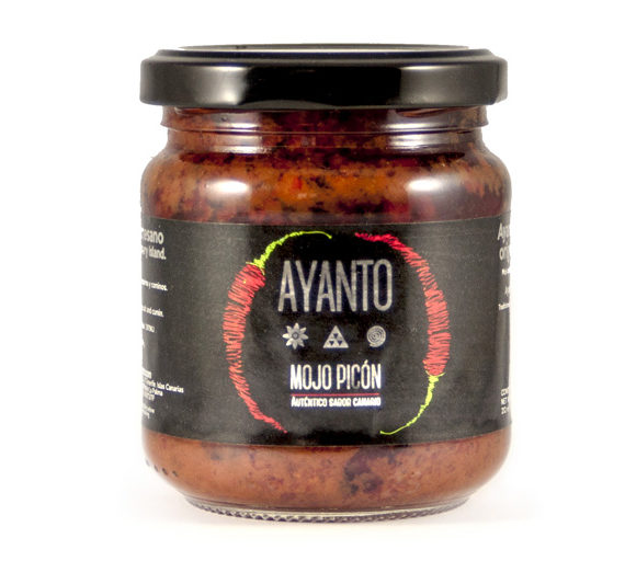 mojo picon Red mojo Ayanto from Canary Island gourmet Olmeda Origenes HORECA