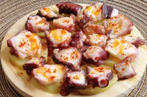 pulpo octopus pimenton